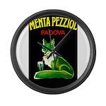 Menta Pezziol Padova Aperitif Liquor Large Wall Cl