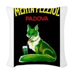 Menta Pezziol Padova Aperitif Liquor Woven Throw P