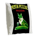 Menta Pezziol Padova Aperitif Liquor Burlap Throw