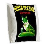 Menta Pezziol Padova Aperitif Liquor Burlap Throw