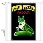 Menta Pezziol Padova Aperitif Liquor Shower Curtai