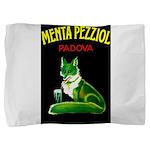 Menta Pezziol Padova Aperitif Liquor Pillow Sham