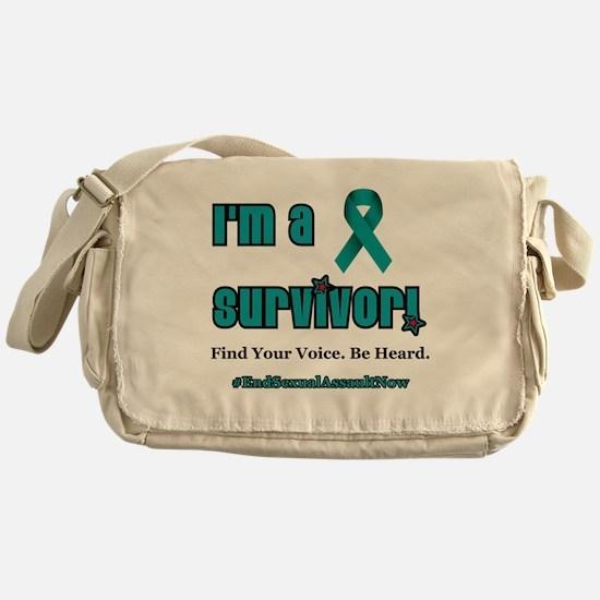 I'm a Survivor... Messenger Bag