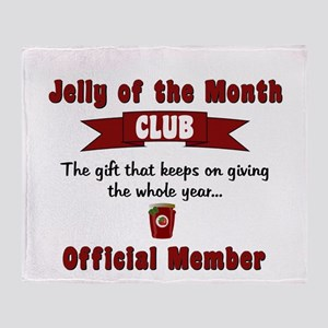 Christmas Jelly of the Month Club Throw Blanket