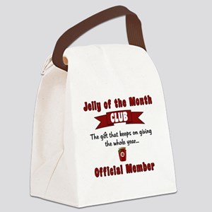 Christmas Jelly of the Month Club Canvas Lunch Bag