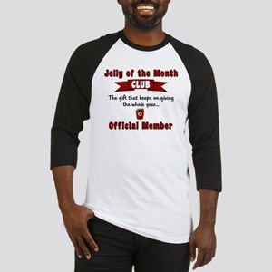 Christmas Jelly of the Month Club Baseball Jersey