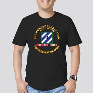 3rd BCT, 3rd ID - OIF Men's Fitted T-Shirt (dark)