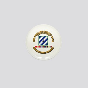 3rd BCT, 3rd ID - OIF w Svc Ribbons Mini Button
