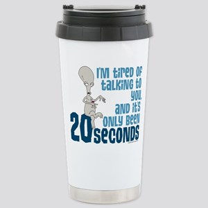 American Dad 20 Seconds Stainless Steel Travel Mug