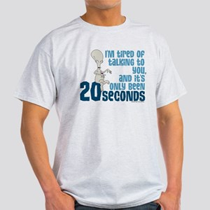 American Dad 20 Seconds Light T-Shirt