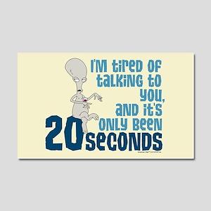 American Dad 20 Seconds Car Magnet 20 x 12