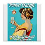 Polveri Galeffi Sparkling Water Tile Coaster
