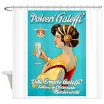 Polveri Galeffi Sparkling Water Shower Curtain