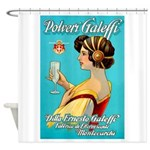 Polveri Galeffi Sparkling Water Shower Curtain