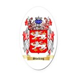 Stocking Oval Car Magnet