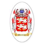 Stocking Sticker (Oval)