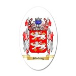 Stocking 20x12 Oval Wall Decal