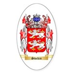 Stockin Sticker (Oval)