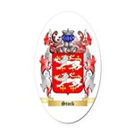 Stock Oval Car Magnet