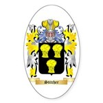 Stitcher Sticker (Oval 50 pk)