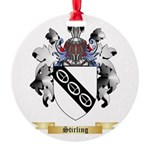 Stirling Round Ornament