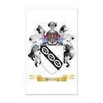 Stirling Rectangle Car Magnet
