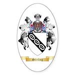 Stirling Sticker (Oval 50 pk)