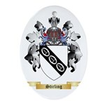 Stirling Oval Ornament