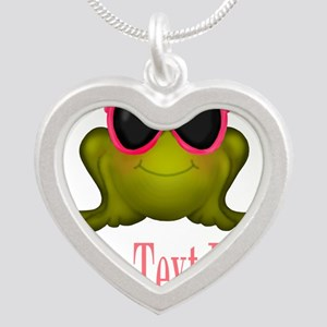 Frog in Pink Sunglasses Custom Necklaces