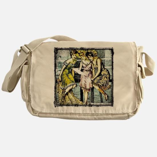 Unique Old friends Messenger Bag