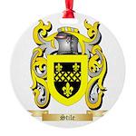 Stile Round Ornament