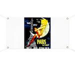 Paris La Nuit Ville des Folies Banner
