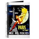 Paris La Nuit Ville des Folies Journal