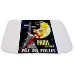 Paris La Nuit Ville des Folies Bathmat