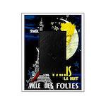 Paris La Nuit Ville des Folies Picture Frame
