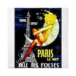 Paris La Nuit Ville des Folies Queen Duvet