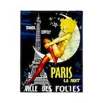 Paris La Nuit Ville des Folies Twin Duvet