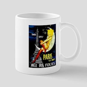 Paris La Nuit Ville des Folies Mugs
