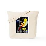 Paris La Nuit Ville des Folies Tote Bag