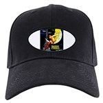 Paris La Nuit Ville des Folies Baseball Hat