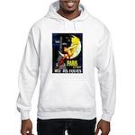 Paris La Nuit Ville des Folies Hoodie Sweatshirt