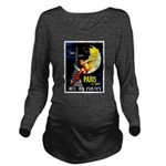Paris La Nuit Ville des Folies Long Sleeve Materni