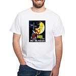 Paris La Nuit Ville des Folies T-Shirt