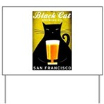 Black Cat Brewing Co. Yard Sign