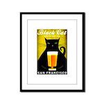 Black Cat Brewing Co. Framed Panel Print