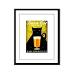 Black Cat Brewing Co. Framed Panel Print