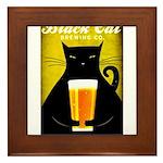 Black Cat Brewing Co. Framed Tile