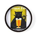 Black Cat Brewing Co. Wall Clock
