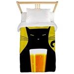 Black Cat Brewing Co. Twin Duvet