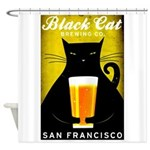 Black Cat Brewing Co. Shower Curtain